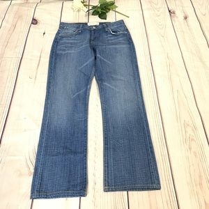 Paper Denim & Cloth blue medium wash denim Jeans